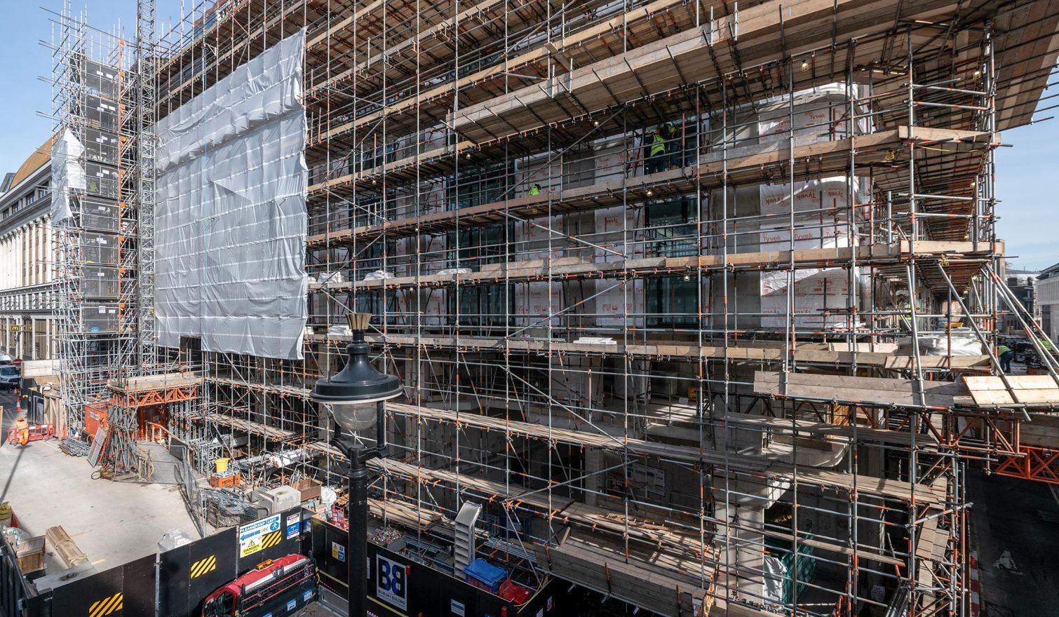 Edwardian Hotel, Leicester Square, London - Various Scaffolds