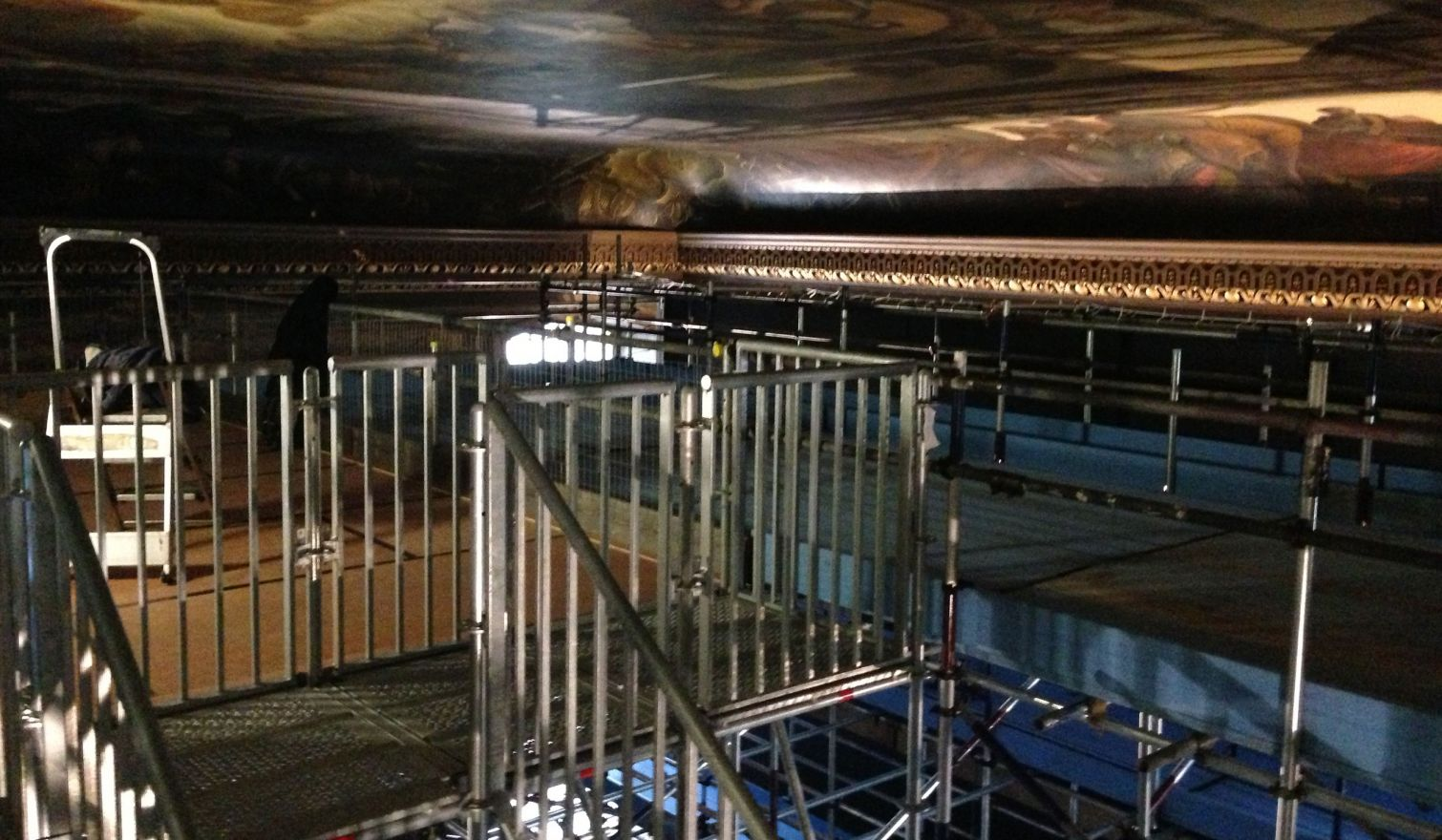 The Painted Hall - Access Scaffold, Mobile Bridged Scaffold & Public Viewing Gallery